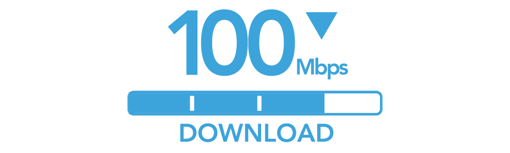 100 Mbps Download Internet Speed