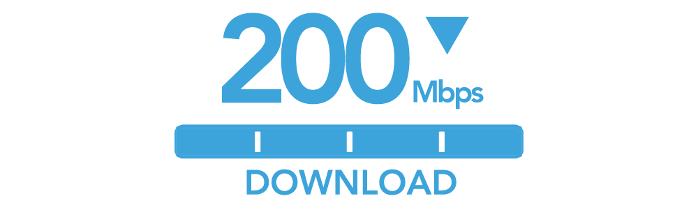 200 Mbps Download